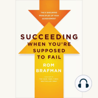 Succeeding When You're Supposed to Fail