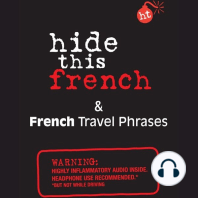Hide This French Book: & French Travel Phrases