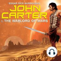 John Carter in The Warlord of Mars