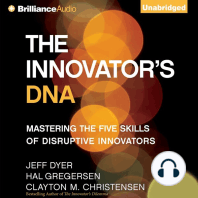 The Innovator's DNA