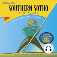 Southern Sotho Crash Course by LANGUAGE/30