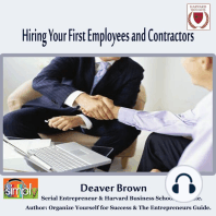 Hiring Your First Employees and Contractors