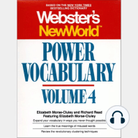 Webster's New World Power Vocabulary, Volume 4
