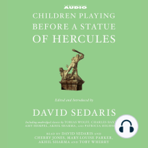 Children Playing Before a Statue of Hercules