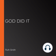 God Did It