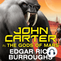 John Carter in The Gods of Mars