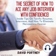 The Secret of How To Ace Any Job Interview With Confidence!