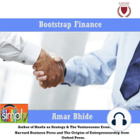 Bootstrap Finance: The Art of Startups