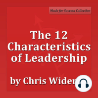 The 12 Characteristics of Leadership