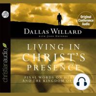 Living in Christ's Presence