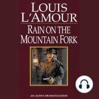 Rain on the Mountain Fork
