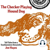 The Checker Playing Hound Dog