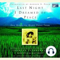 Last Night I Dreamed of Peace