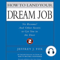 How to Land Your Dream Job