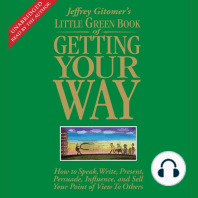 The Little Green Book of Getting Your Way