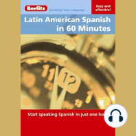 Latin American Spanish in 60 Minutes