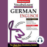 German/English Level 3