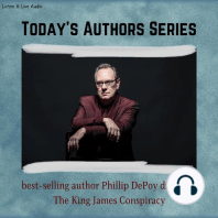 """Today's Authors Series: Phillip DePoy Discusses """"The King James Conspiracy"""""""