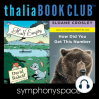 David Rakoff's Half Empty and Sloane Crosley's How Did You Get This Number
