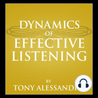 Dynamics of Effective Listening