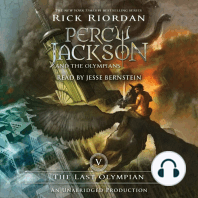The Last Olympian: Percy Jackson and the Olympians: Book 5