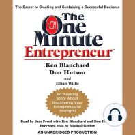 The One Minute Entrepreneur