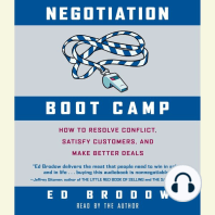 Negotiation Boot Camp