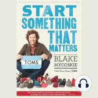 Start Something That Matters