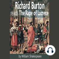 Richard Burton reads The Rape of Lucrece