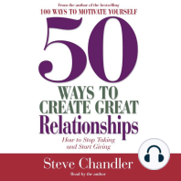 50 Ways to Create Great Relationships