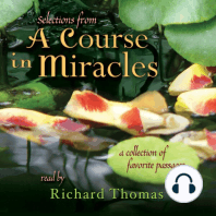Selections from 'A Course in Miracles'