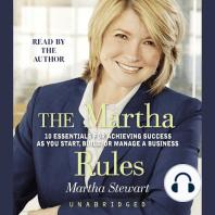 The Martha Rules