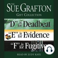 Sue Grafton DEF Gift Collection