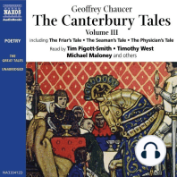 The Canterbury Tales III