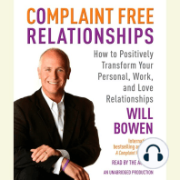 Complaint Free Relationships
