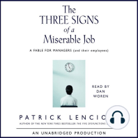The Three Signs of a Miserable Job