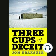 Three Cups of Deceit