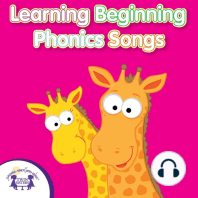 Learning Beginning Phonics Songs