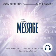 The Message: Complete Bible: The Bible in Contemporary Language