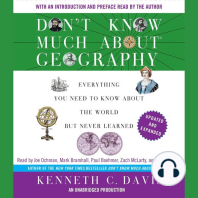 Don't Know Much About Geography: Everything You Need to Know About the World But Never Learned, Updated and Expanded