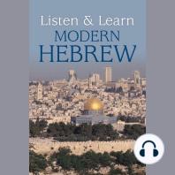 Listen & Learn Modern Hebrew