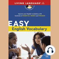 Easy English Vocabulary