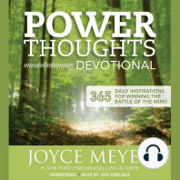 Power Thoughts Devotional