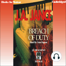 Breach Of Duty: J.P. Beaumont, Book 14