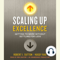 Scaling Up Excellence