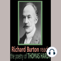 Richard Burton reads the poetry of Thomas Hardy