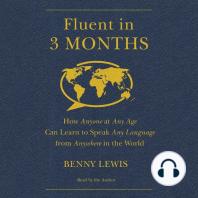 Fluent in 3 Months