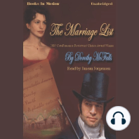 The Marriage List