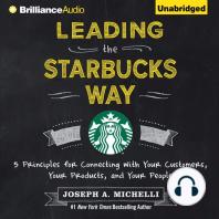 Leading the Starbucks Way