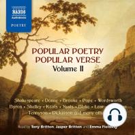 Popular Poetry, Popular Verse – Volume II